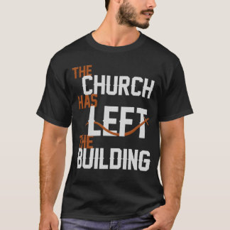 Holy Discontent Church Left Building - Mens T-Shirt