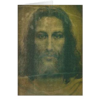 Holy Face Mass Card