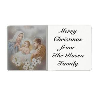 Holy Family Jesus Mary Joseph Christmas