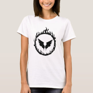 Holy Fire &  Angel Wings Graphic T-Shirt