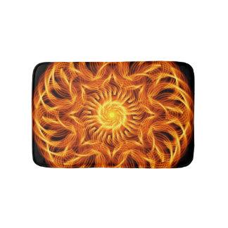 Holy Fire Mandala Bath Mat