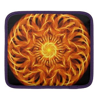 Holy Fire Mandala iPad Sleeve