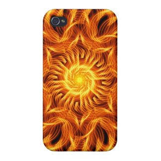 Holy Fire Mandala iPhone 4/4S Covers
