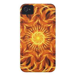 Holy Fire Mandala iPhone 4 Case-Mate Cases