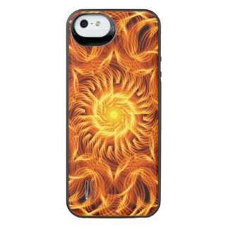 Holy Fire Mandala iPhone SE/5/5s Battery Case
