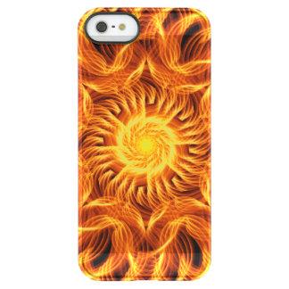 Holy Fire Mandala Permafrost® iPhone SE/5/5s Case