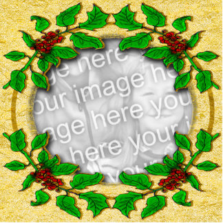 Holy frame template photo sculpture magnet