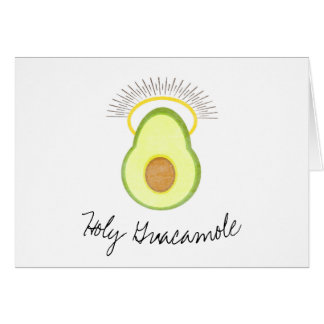 Holy Guacamole, Getting Older, Birthday Funny Card