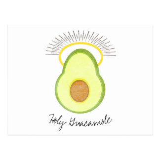 Holy Guacamole, Miss You, Funny Postcard