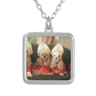 Holy Hound Conclave Silver Plated Necklace