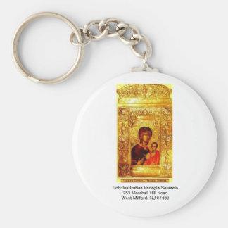 Holy Institution Panagia Soumela icon Keychain