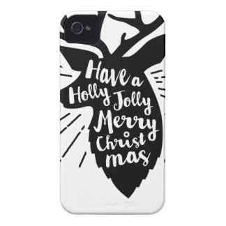 holy joly reindeer iPhone 4 covers