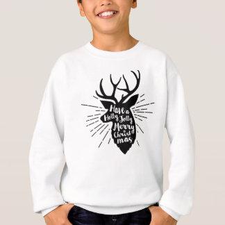 holy joly reindeer sweatshirt