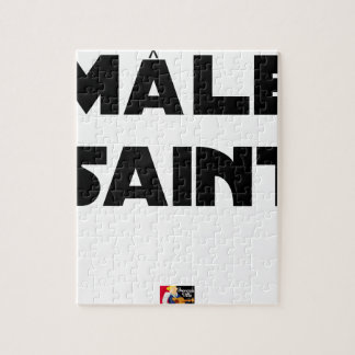 HOLY MALE - Word games - François City Jigsaw Puzzle