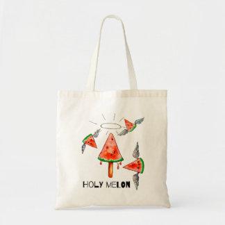 Holy melon tote bag