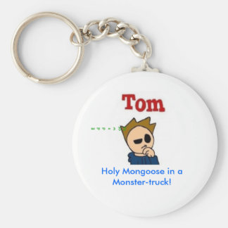Holy Mongoose in a Monster-truck! Keychain