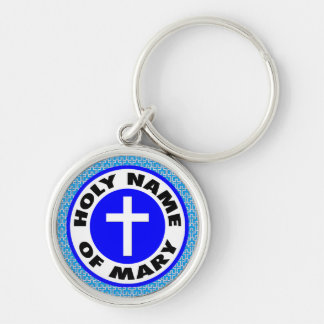 Holy Name of Mary Keychain
