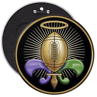 Holy NOLA Trophy (p) 6 Inch Round Button