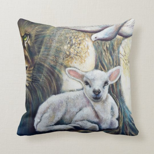 Holy PILLOW, Throw Pillow