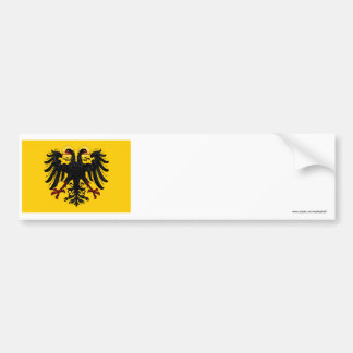 Holy Roman Empire Flag Bumper Sticker