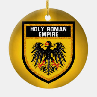 Holy Roman Empire Flag Ceramic Ornament