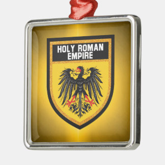 Holy Roman Empire Flag Metal Ornament