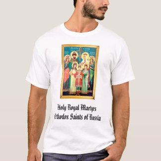 Holy Royal Martyrs Orthodox Saints of ... T-Shirt