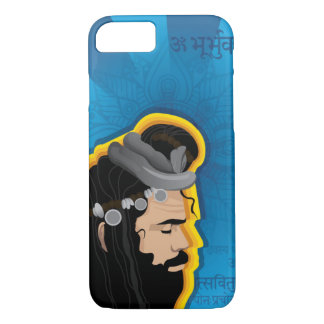 Holy sage Indian Digital Illustration Case-Mate iPhone Case