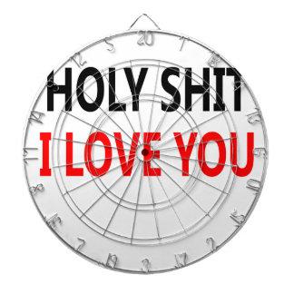 Holy Shit I Love You(1) Dartboard