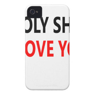 Holy Shit I Love You(1) iPhone 4 Case-Mate Cases