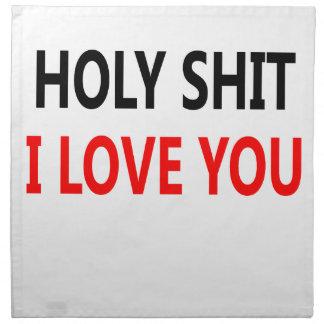 Holy Shit I Love You(1) Napkin