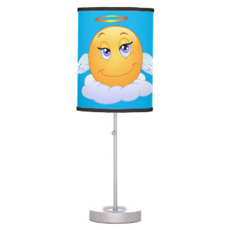 Holy smiley table lamp