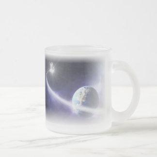 Holy Spirit Art Bible Frosted Coffee Mug