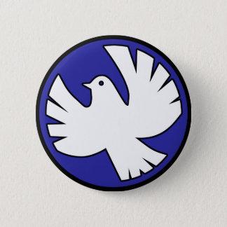 Holy Spirit Dove 2 Inch Round Button