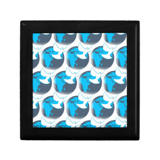 Holy Spirit dove abstract earth blessing Gift Box