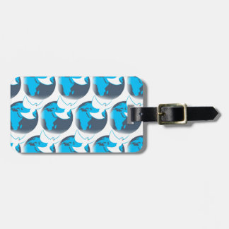 Holy Spirit dove abstract earth blessing Luggage Tag