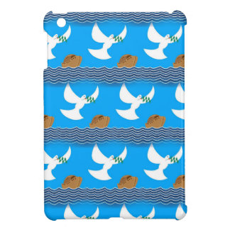 Holy spirit dove and earth abstract blue iPad mini covers