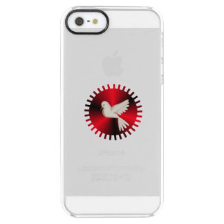Holy Spirit Dove Clear iPhone SE/5/5s Case
