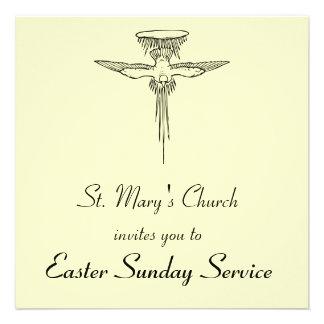 Holy Spirit Dove Customizable Service Invitation