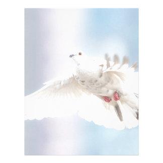 Holy Spirit dove Letterhead