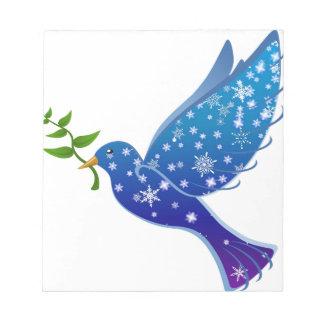 Holy Spirit dove peace Notepad