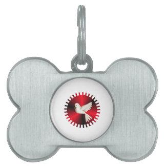 Holy Spirit Dove Pet Tag