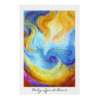 Holy Spirit Dove Poster