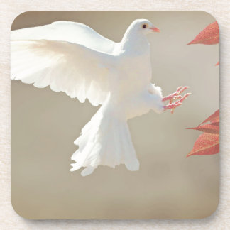Holy spirit heavenly dove coaster