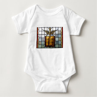 Holy Spirit Jesus is Alpha and Omega Baby Bodysuit