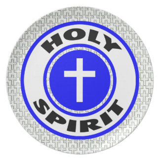 Holy Spirit Party Plate