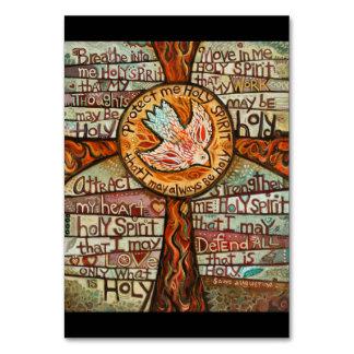 Holy Spirit Prayer Card Table Cards