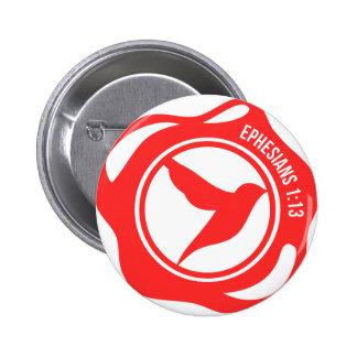 Holy Spirit Seal 2 Inch Round Button