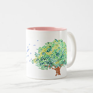 Holy Spirit Two-Tone Coffee Mug