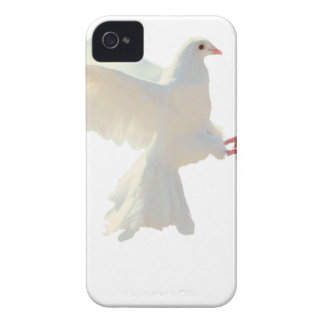 Holy Spirit white beautiful dove iPhone 4 Case-Mate Cases